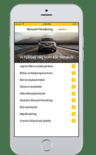 iphone-renault-skadeapp
